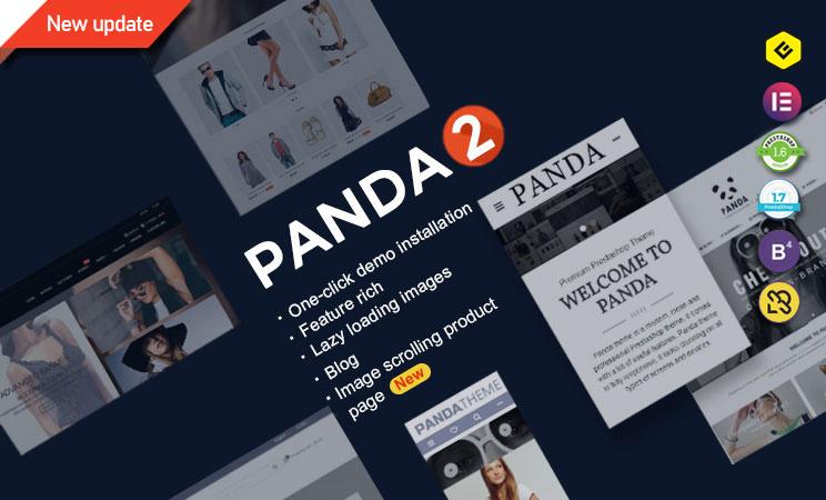 Miglior Template Prestashop 1.7 Panda theme